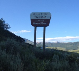 Some people drive to this trailhead, which is okay with them