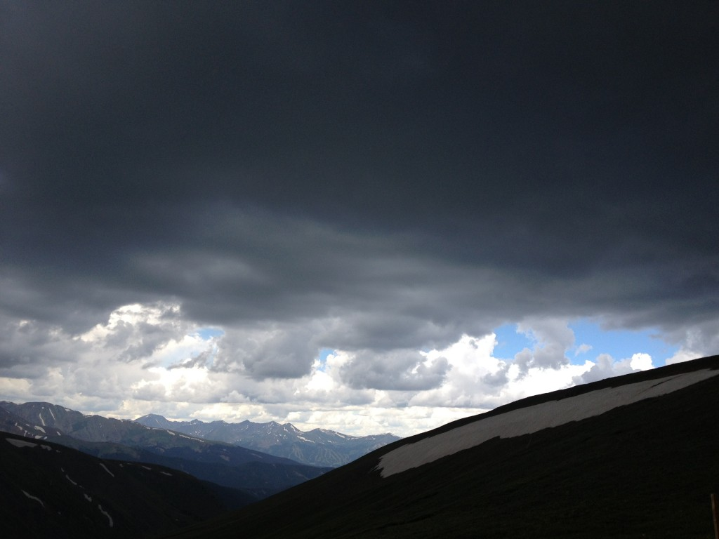 Storm Clouds above Breckenridge