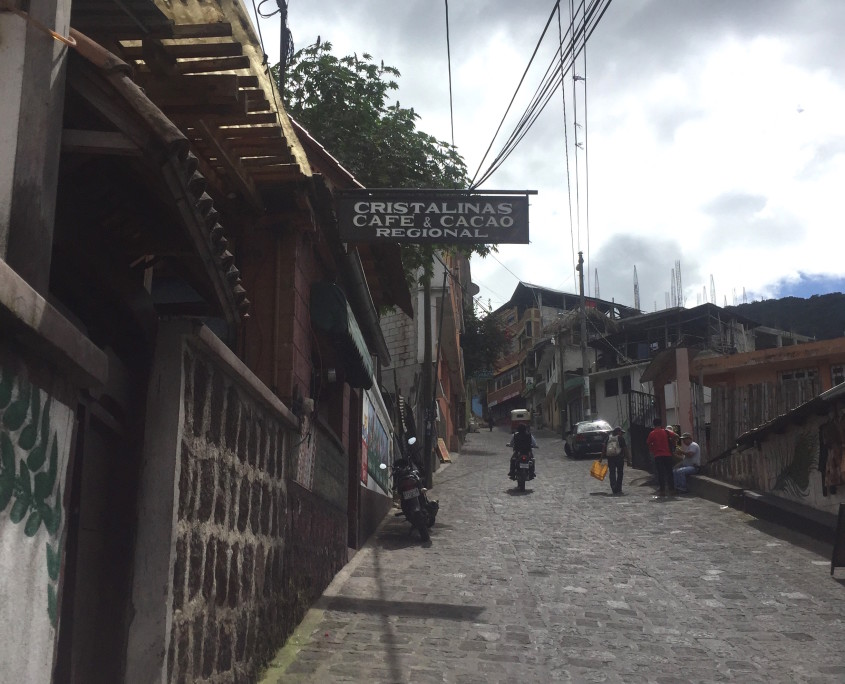 Cafe Cristalinas in San Pedro